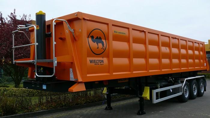Wielton NW 3 S 37 PK (NW 38 SB/K M2)- самосвальный стальной полуприцеп