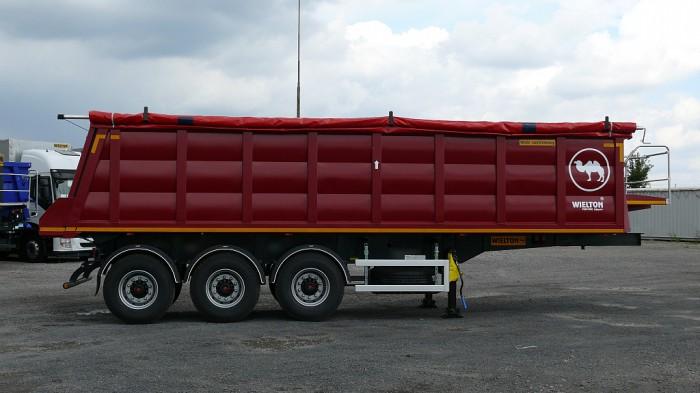Wielton NW 3 S 25 PK (NW 24 SB/M2) — самосвальный стальной полуприцеп